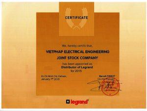 Công phân phối chính thức của tập đoàn thiết bị điện Legrand tại Việt Nam